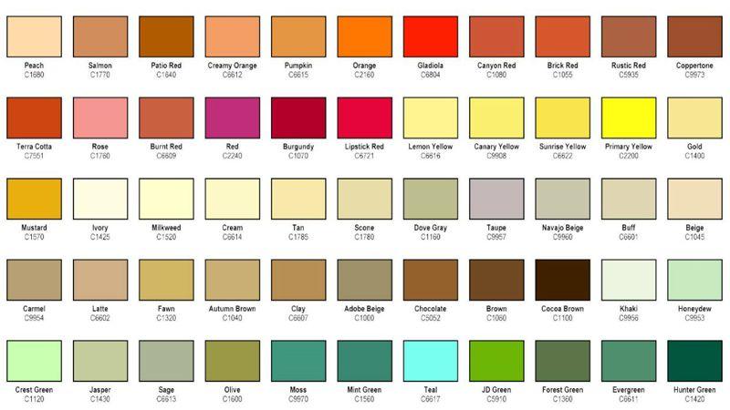 انواع رنگ اپوکسی