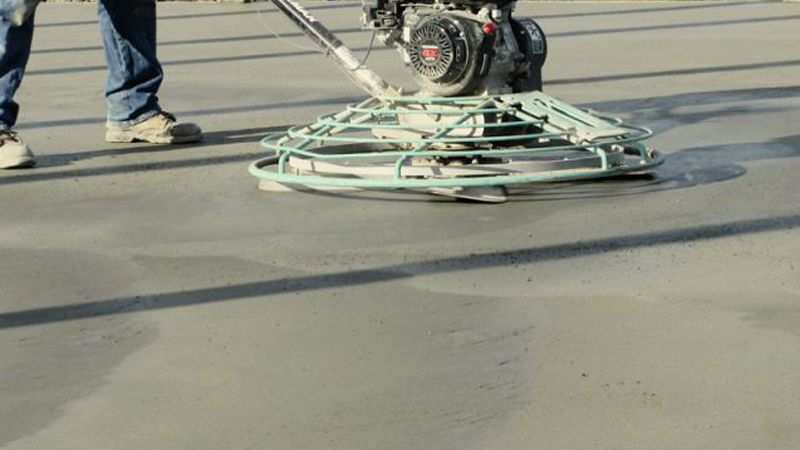 عملیات اجرای پودر بتن